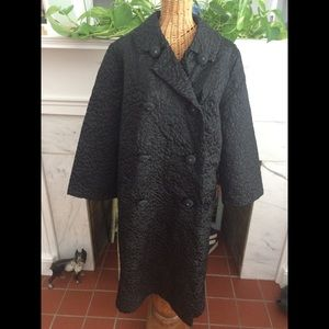Vintage 60's Glam Trench Style Coat